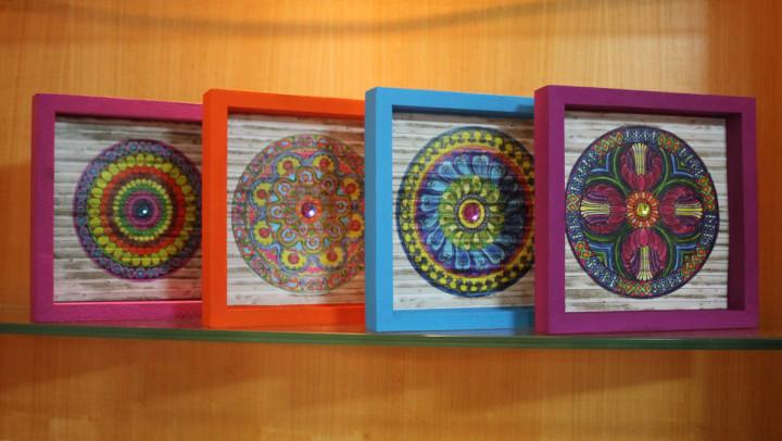 Mandalas para colorir a vida