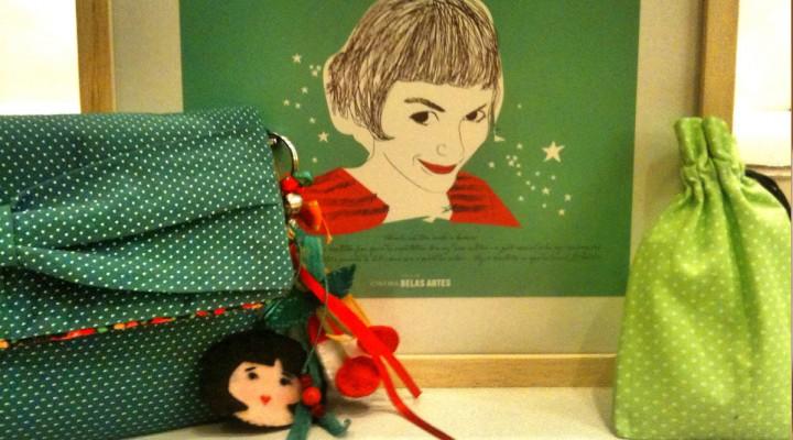 Um kit inspirado em Amélie Poulain