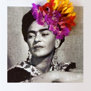 Frida e flores