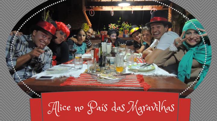 Alice no País das Maravilhas: jantar temático
