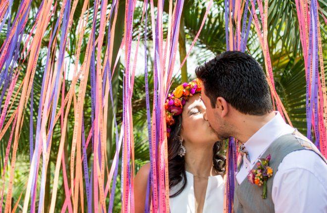 Nosso casamento: um dia repleto de amor e cor